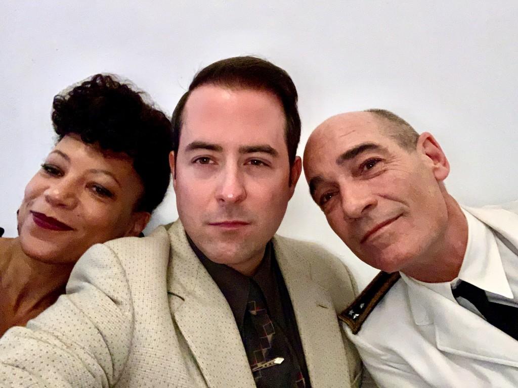 "Nina Sosanya, Alexander Albrecht, Jean-Marc Barr in Sky Original Series ""Little Birds"""